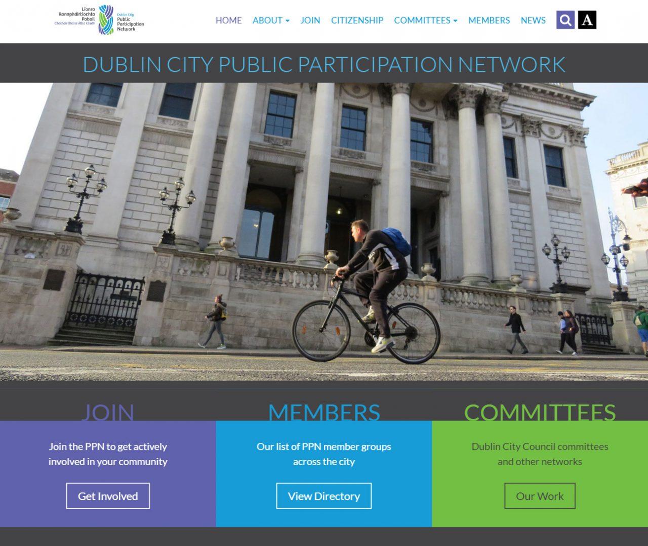 Dublin City Public Participation Network - Home