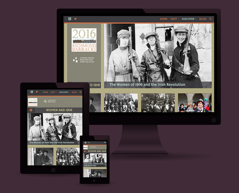 Responsive Web Design - Richmond Barracks