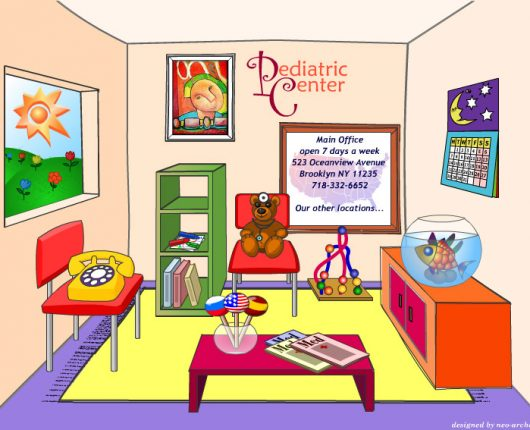Belilovsky Pediatric Center Interactive Waiting Room