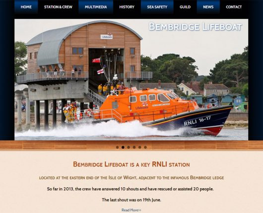 RNLI Bembridge Lifeboat - Home Page