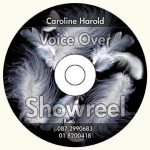Caroline Harold Showreel CD-Rom Label