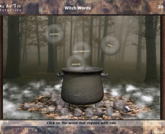 Macbeth Interactive - Cauldron Mini-Game