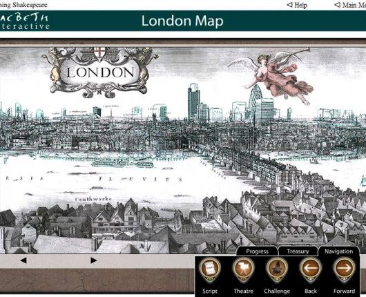 Macbeth Interactive - London Map