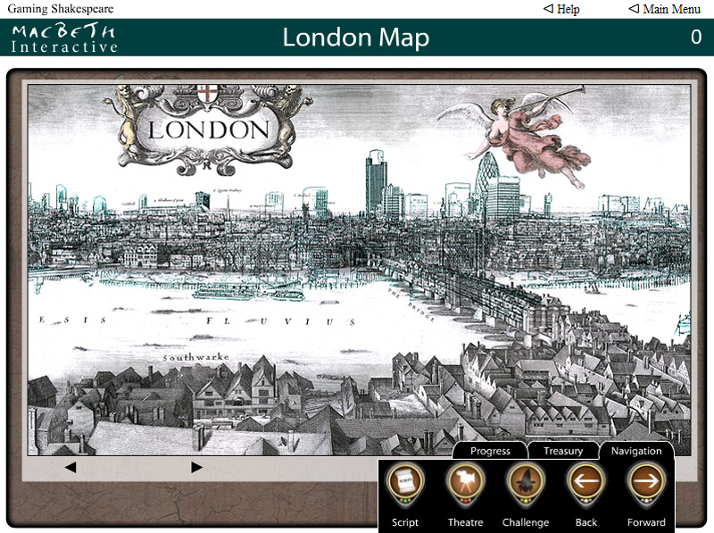 Macbeth Interactive - London Map
