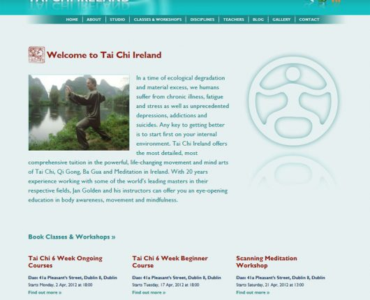 Tai Chi Ireland Home Page