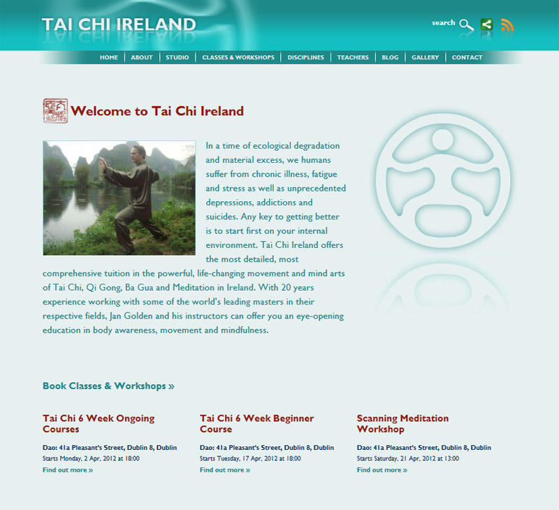 Tai Chi Ireland Home Page