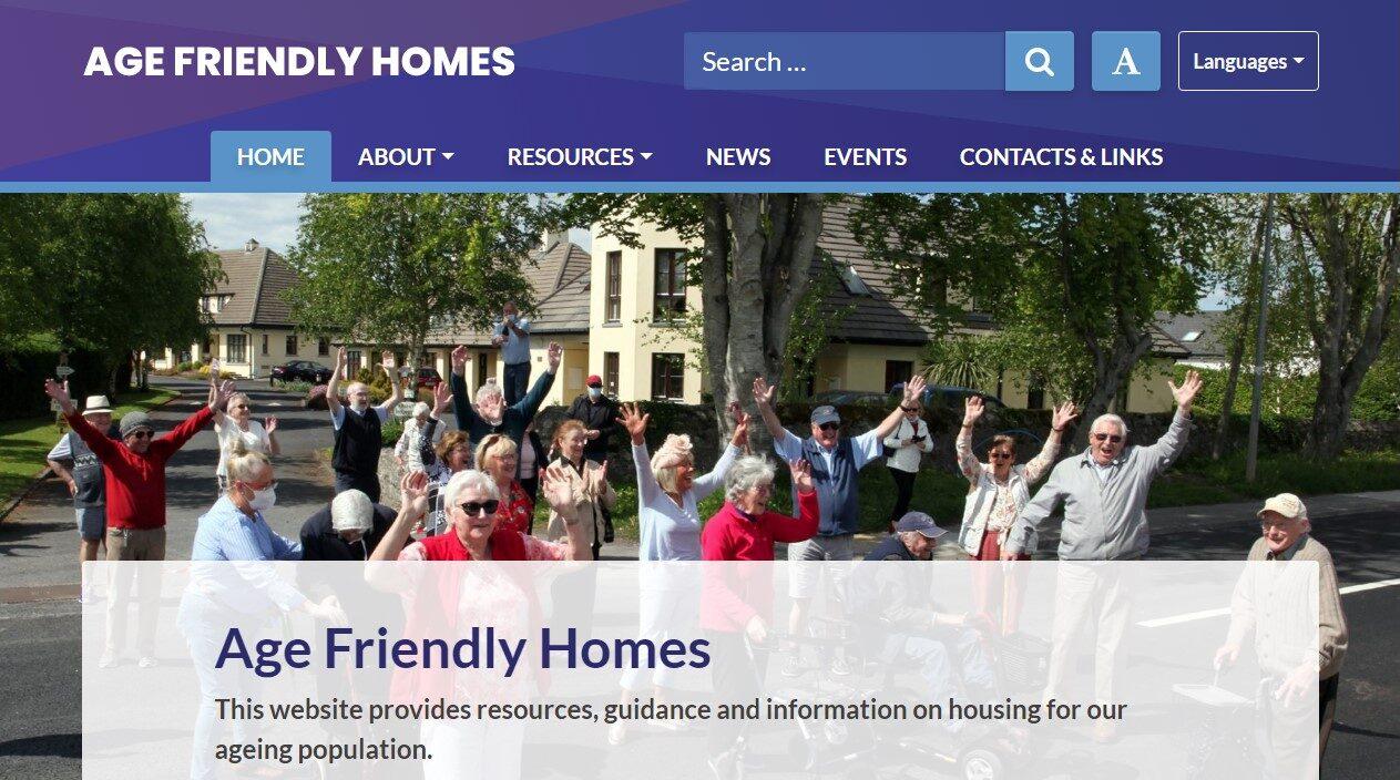 Age Friendly Homes Homepage