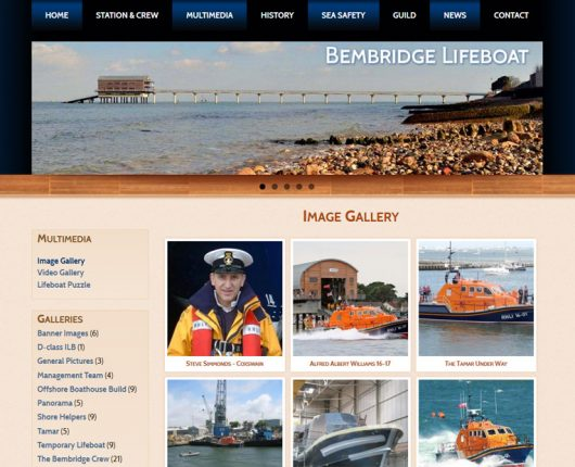Bembridge Lifeboat Gallery Page