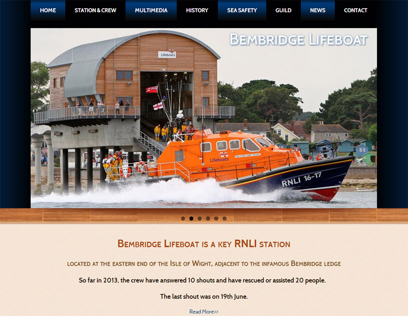 RNLI Bembridge Lifeboat - Home Page