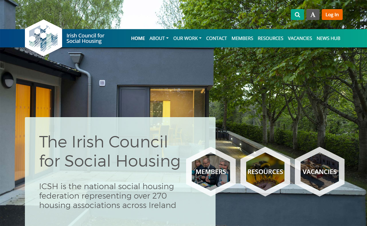 Irish Council for Social Housing Homepage