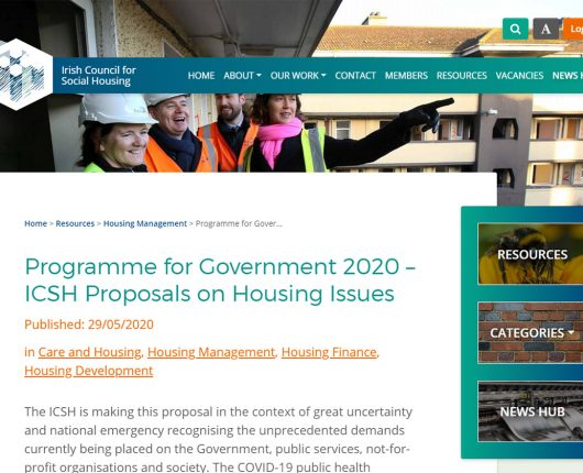 Irish Council for Social Housing Resource