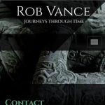 Rob Vance - Contact - Mobile Layout
